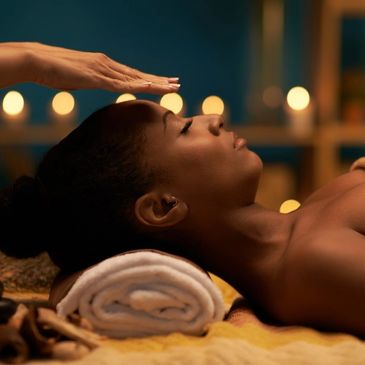 Reiki Session Relaxation for body and mind