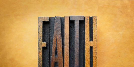 Faith Alone in Christ Alone