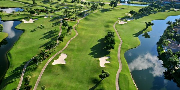 Private Golf Course Aerial Marketing