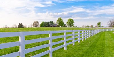 An example of our fencing services in Wentzville, MO