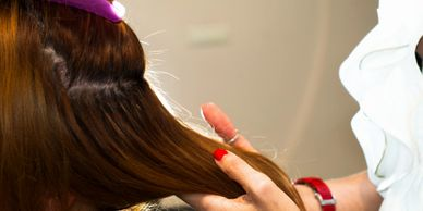 Bonded hair extensions Darlington