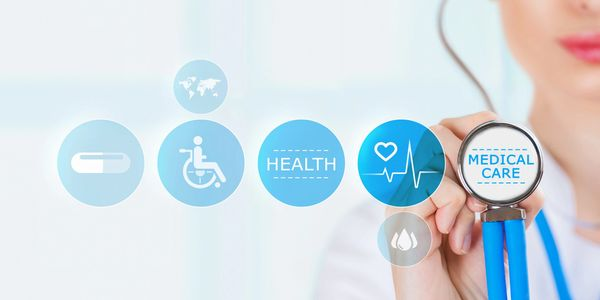 Healthcare consulting services that creates awareness within the insurance and tech sectors.