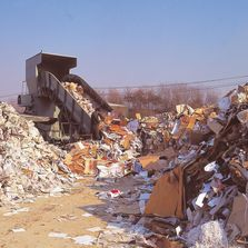 This is a picture of a landfill we have a lot of them and they are filling up fast!