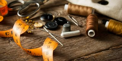 Professional alterations and garment repair
