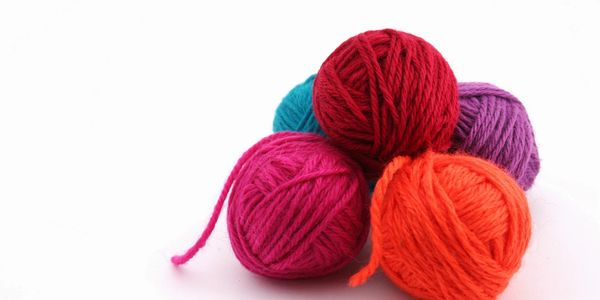Crochet Wool (thicker, softer material)