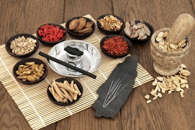 Chinese herbs can often be used to improve health.