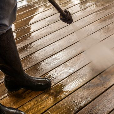 deck cleaning, power washing services