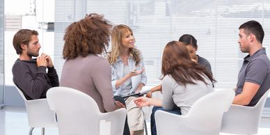Group therapy MGM Behavioral ABA therapy, MGM Behavioral ABA qualified therapists and professional services