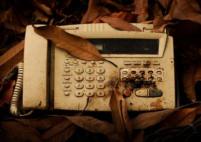 Analogue fax machine