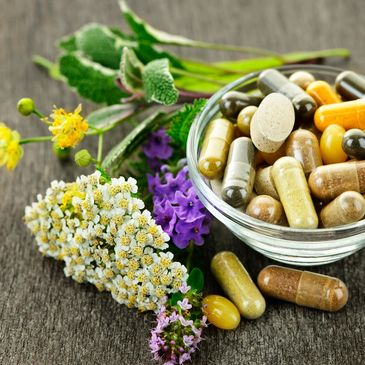 Established clients can take advantage of easily mail ordering supplements and herbal formulas!