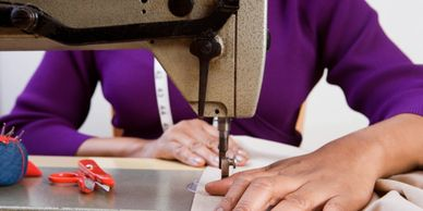 1-2-1 (one to one) sewing tuition in Chester, Cheshire