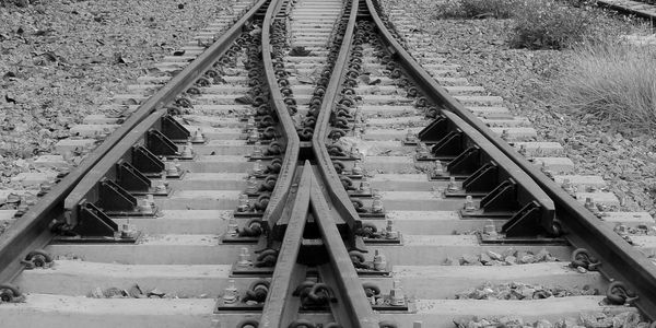 Creating change is like flipping a railroad switch. Before you know it you're on a new track.