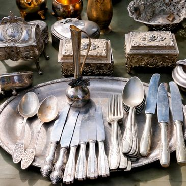 Fine collectibles including Sterling silver