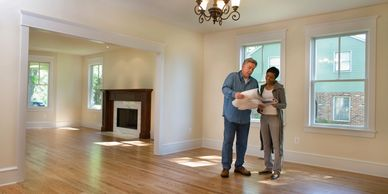 Home Inspector and home buyer