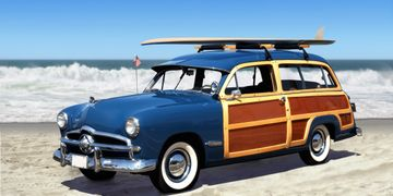Car on the Beach, Woody, Criminal Defense Attorney, Allen, Baylis, Traffic Lawyer