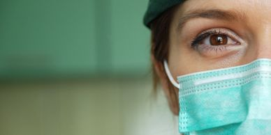 It has been recommended that when out and about, take the precaution of wearing a face mask.