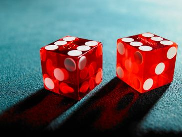 Dice used at our casino parties in Plainfield, NJ