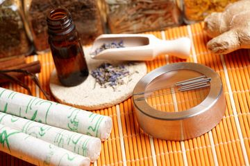 Acupuncture needles and apothecary implements