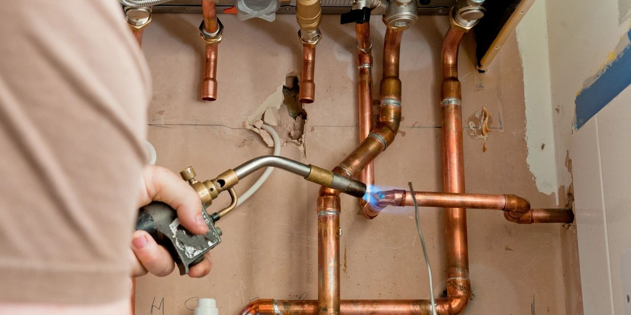 Gasfitting work including gas hot water system replacement