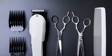 hair stylist barber tools