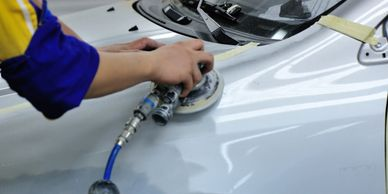 car touch up paint, automotive touch up paint, car buffing, buffing a car, car buffing near me