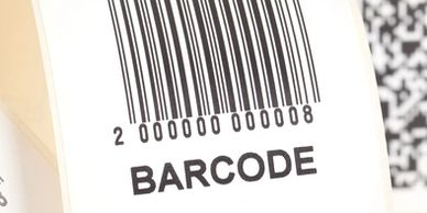 Barcode printer with labels