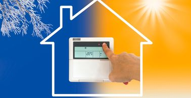 Thermostat not working?  We can repair all year long, 24 hours a day