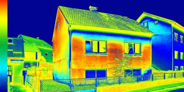 Building envelope evaluation by InfraRed pros