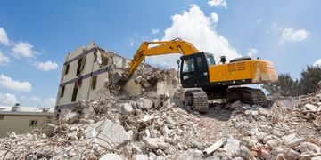 Site Demolition in Virginia, Maryland, and DC