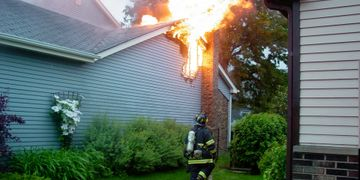 Homeowner Fire Damage Insurance Claim www.bennett.leagal