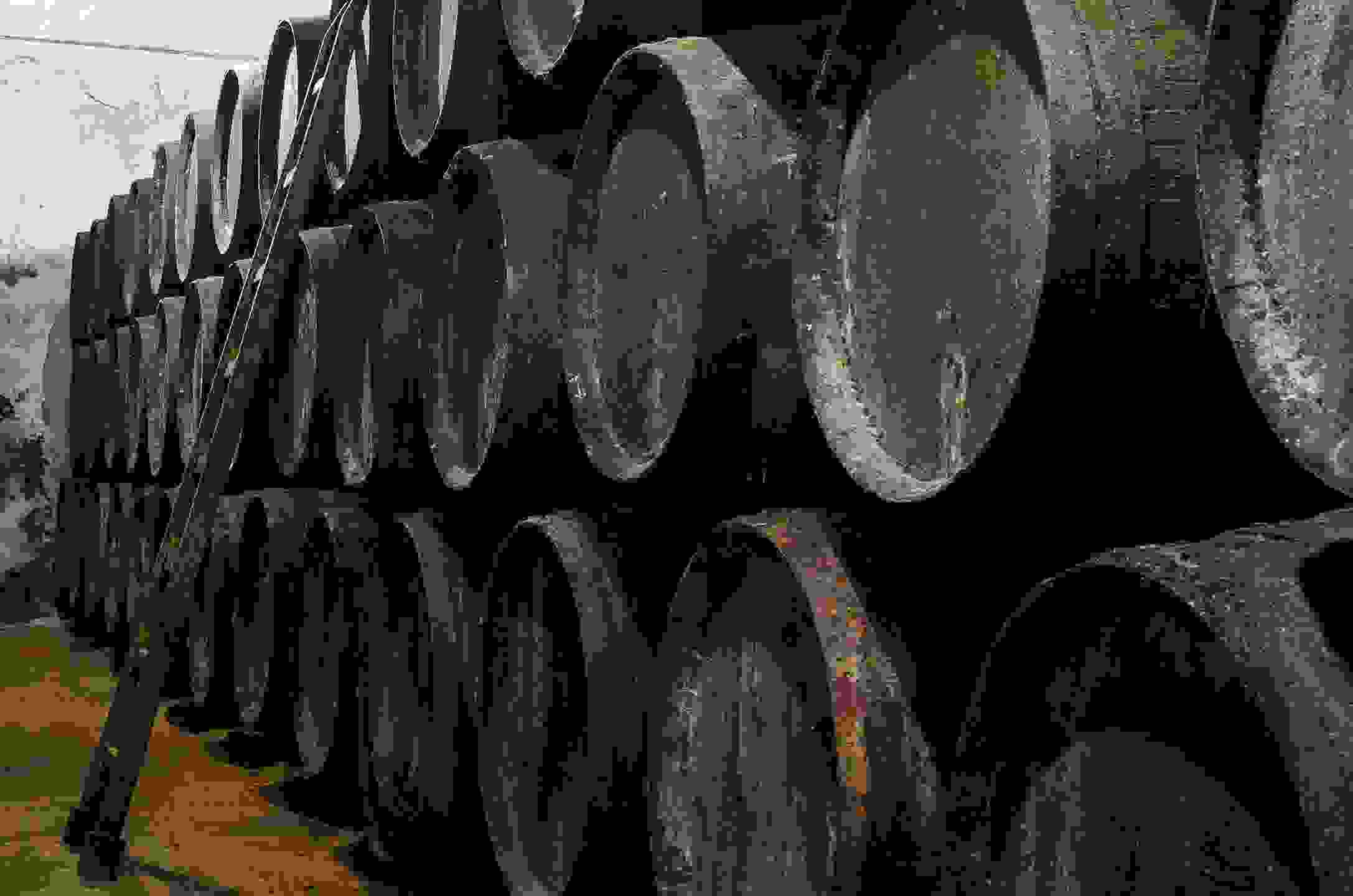 Whisky barrels show the history and journey the scotch and whisky have taken,