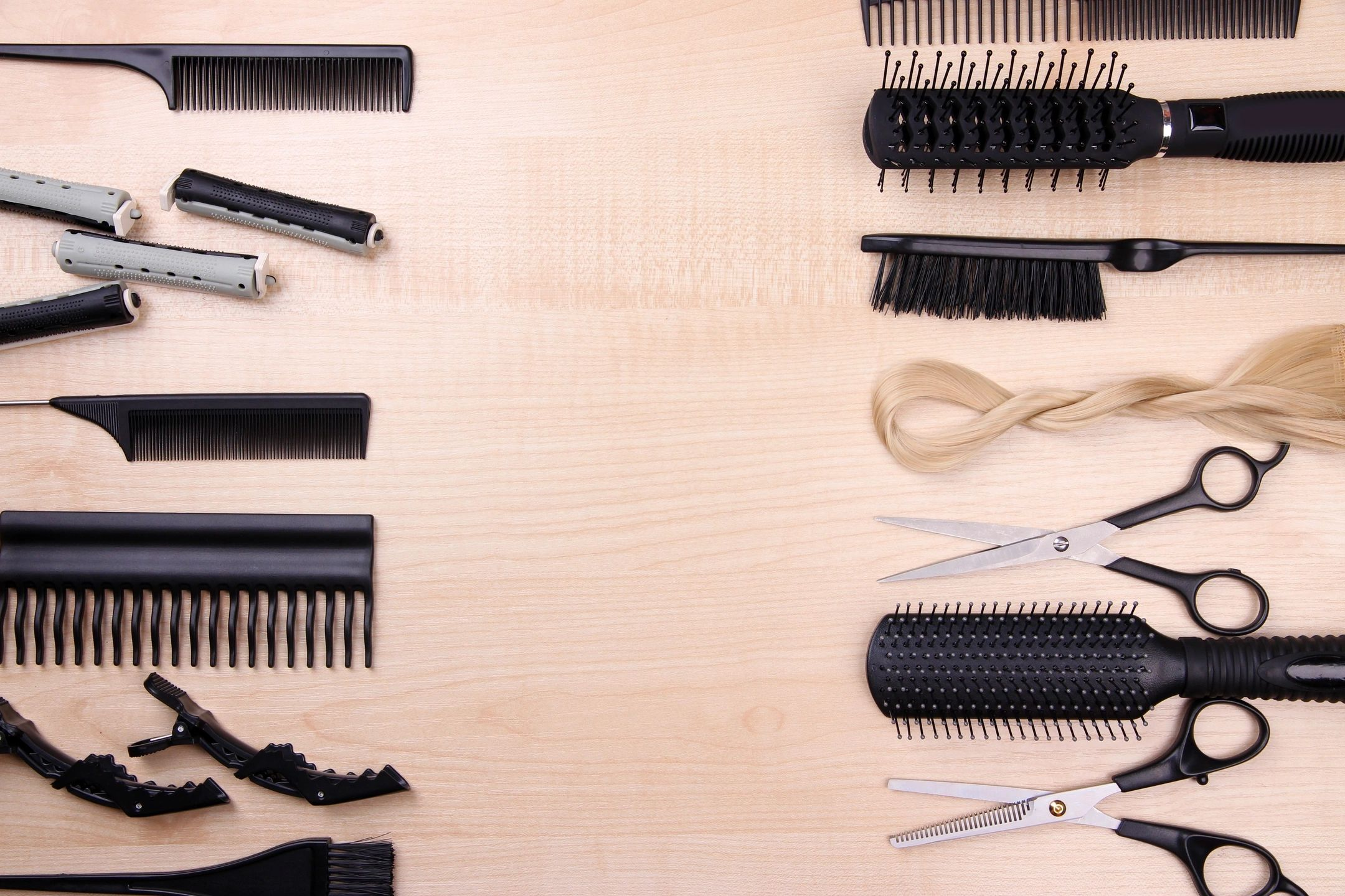Picture of salon equipment for services offered