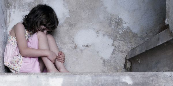 Trauma and PTSD - lonely abused child, abandoned.