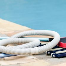 Clinivac | Safely vacuum's waste from the pool without contaminating you or the vac