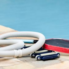 Professional swimming pool service