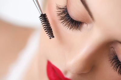 Lash extensions at Ariya Aesthetics