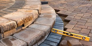 pavestone patios and walkways landscaper, landscaping, landscape contractor lake charles louisiana