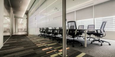 Boardroom for shareholders, board of directors, officers and corporate lawyers