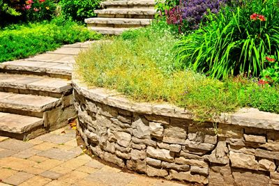 Retaining wall, curb appeal