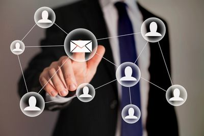 Use email marketing to create customers and sell your products.