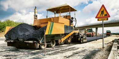 Paving, grading, utility, earth moving, heavy equipment, pave, asphalt, road crew, builders, construction