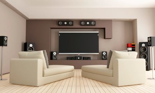 Home Theatre, Whole home audio, TV mounting, speaker installation