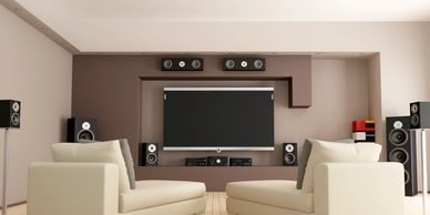 Digital Creations Custom Home Theaters installs whole house audio and video. Sonos, Heos, Music