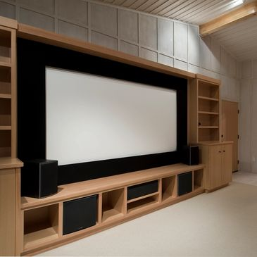clean work on projector or TV installations.
