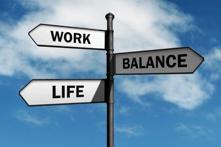 Live a balanced life, work life balance, re-balance, better health