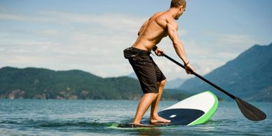 Paddleboard Race Training