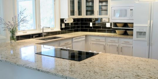 Granite quartz counter tops