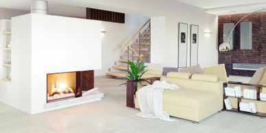 Fireplace installations services repairs, fireplace Installer.Close combustion fireplace installer