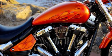 Harley-Davidson Paint Code Location, Motorcycle Paint Touch-up Kit, OEM Code, Motorcycle VIN number