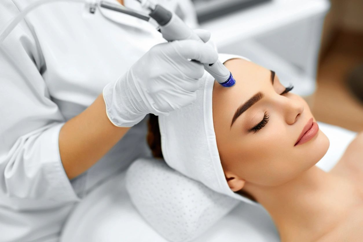 Microdermabrasion treatments for improve skin at Anti-Aging MedSpa
